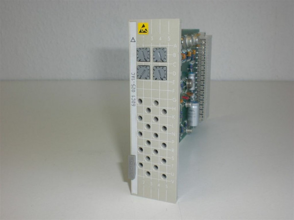 Siemens Simadyn 6DC1025-1AC,6DC 1025-1AC