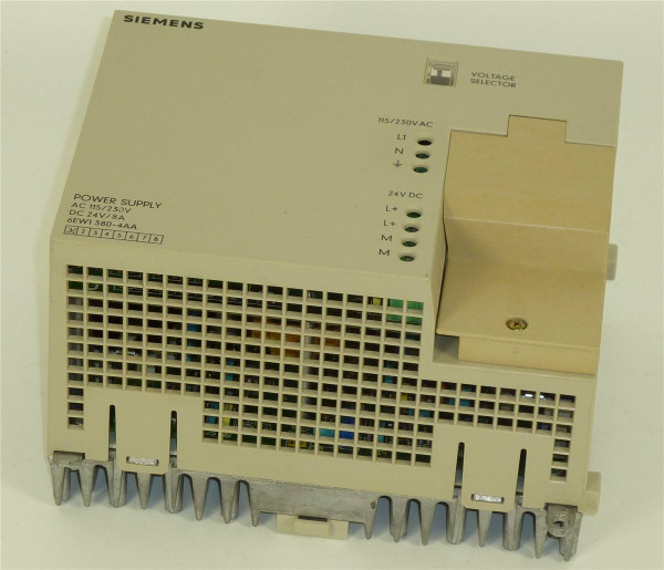 Siemens Simatic Power Supply,6EW1380-4AA,6EW1 380-4AA