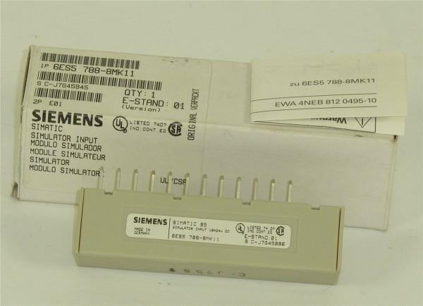 Siemens Simatic S5 Simulator Input,6ES5 788-8MK11,6ES5788-8MK11
