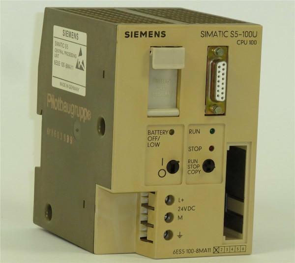 Siemens Simatic S5 CPU 100,6ES5 100-8MA11,6ES5100-8MA11