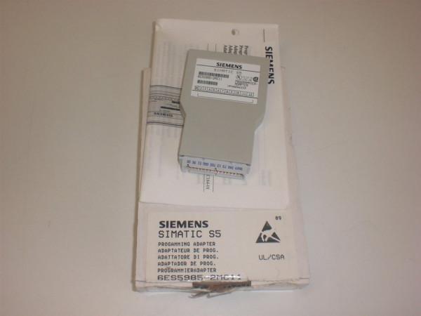 Siemens Simatic S5 Programmieradapter,6ES5985-2MC11,6ES5 985-2MC11