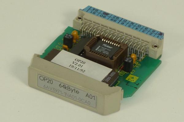 Siemens Simatic S5 OP20 Speicher, 6AV3971-1NA01-0CA0