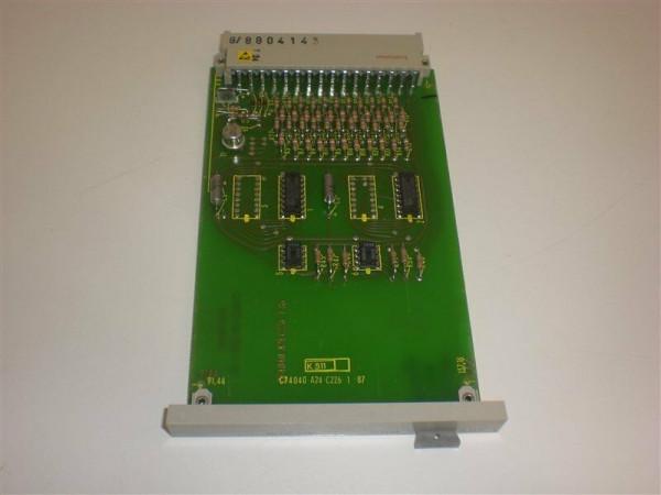 Siemens Simatic C2, 6EC2501-0A,6EC2 501-0A