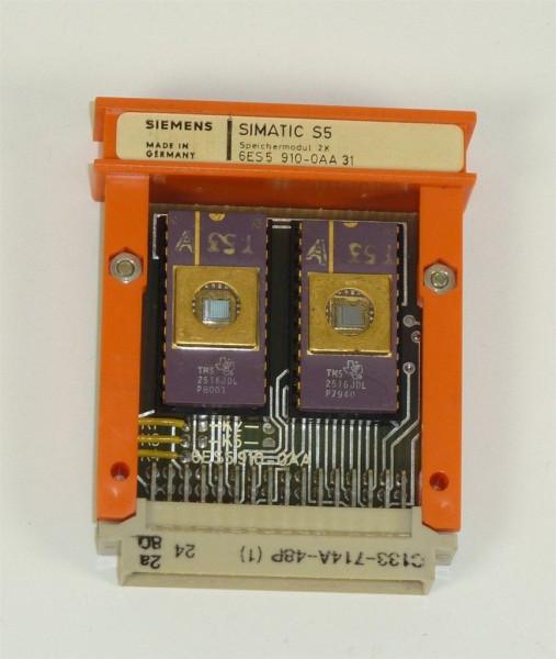 Siemens Simatic S5 Speicher/EPROM,6ES5 910-0AA31,6ES5910-0AA31