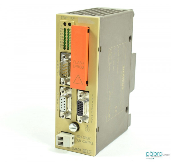 Siemens Simatic S5 IP265,6ES5 265-8MA01,6ES5265-8MA01,E:02