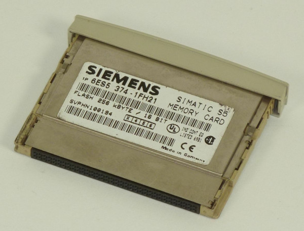 Siemens Simatic S5 Memory Card,6ES5 374-1FH21,6ES5374-1FH21,E:03