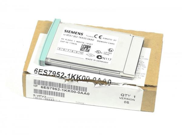 Siemens Simatic S7 Memory Card,6ES7 952-1KK00-0AA0,6ES7952-1KK00-0AA0