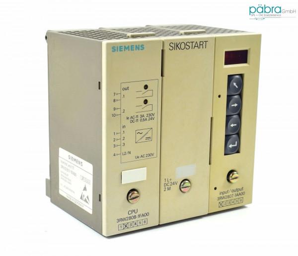 Siemens Sikostart Control Unit 11,3RW2 811-1FA00,3RW2811-1FA00