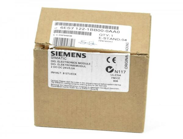 Siemens Simatic S7 Dig. Elektronikmodul,6ES7 122-1BB00-0AA0,6ES7122-1BB00-0AA0