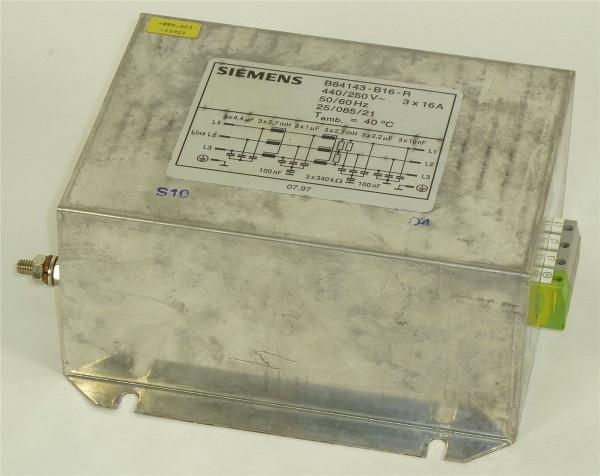 Siemens Simatic Netzfilter,B84143-B16-R
