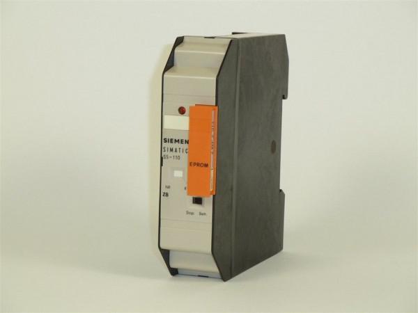 Siemens Simatic S5-110 CPU,6ES5 900-7AA11,6ES5900-7AA11