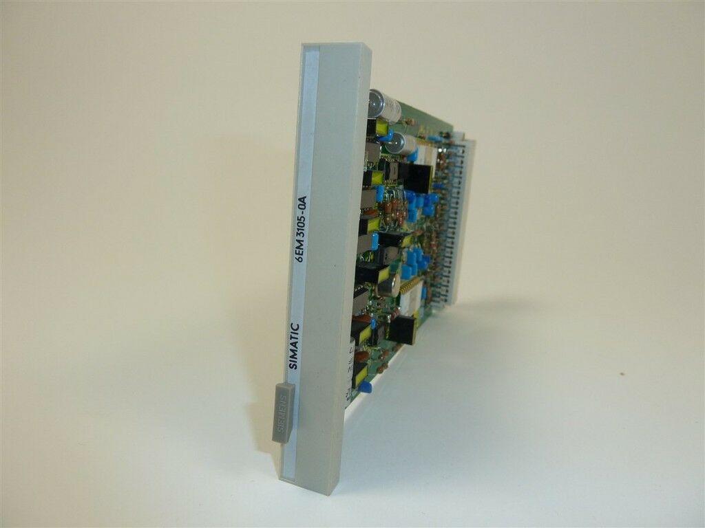 6EM3 105-0A 6EM3105-0A Siemens Simatic Teleperm