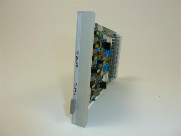 Siemens Simatic Teleperm, 6EM3105-0A, 6EM3 105-0A