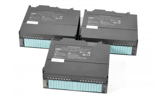 3 x Siemens Simatic S7 IN/OUT,2 x 6ES7 321-1BH02-0AA0,1 x 6ES7 322-1BH01-0AA0