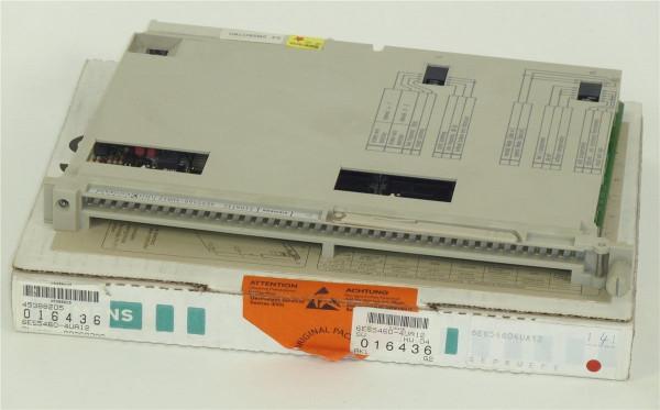 Siemens Simatic S5 Analog IN,6ES5 460-4UA12,6ES5460-4UA12,E:04
