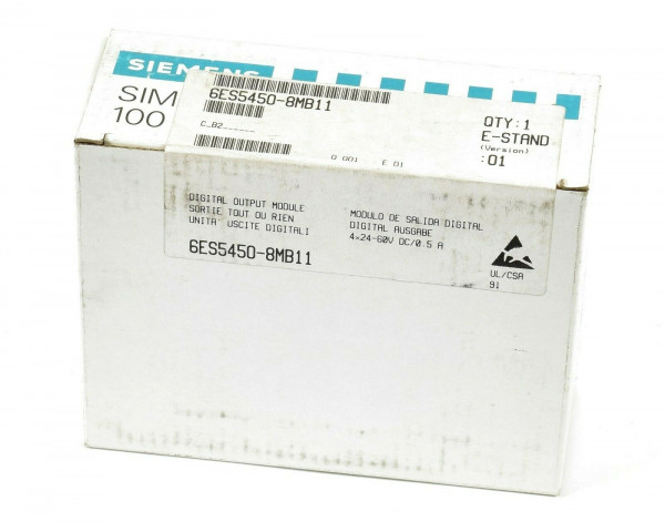 Siemens Simatic S5 Digital OUT,6ES5450-8MB11,6ES5 450-8MB11,E:01