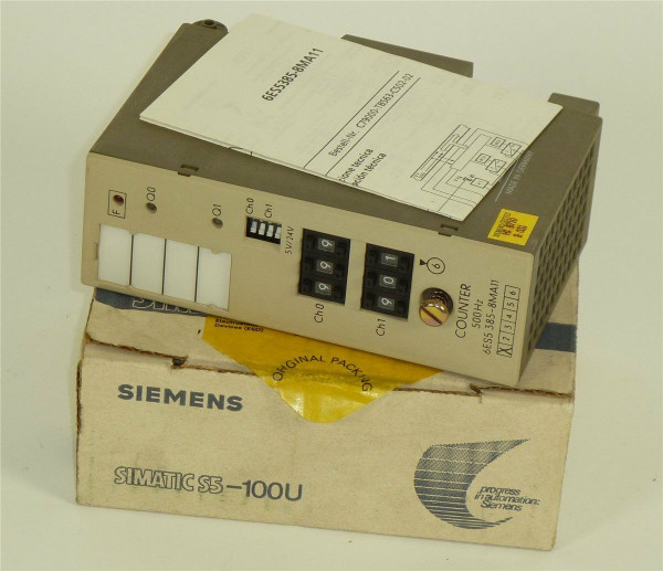 Siemens Simatic S5 Counter 500Hz,6ES5 385-8MA11,6ES5385-8MA11