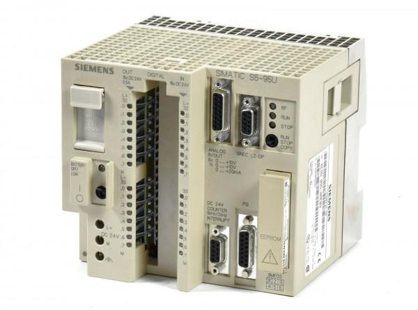 Siemens Simatic S5 095U,6ES5 095-8ME03,6ES5095-8ME03