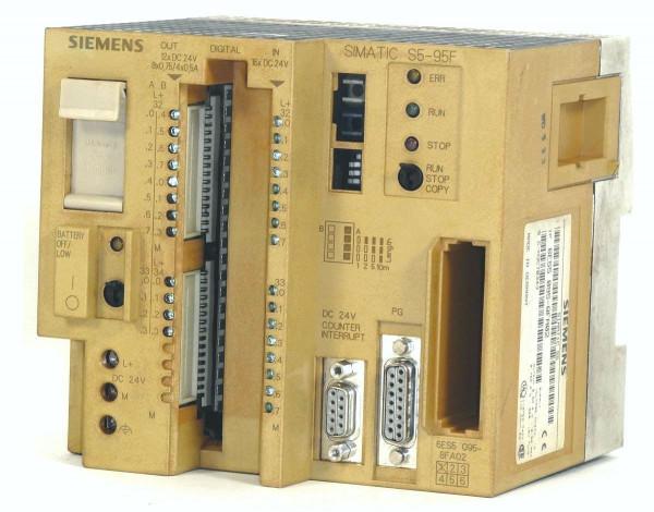 Siemens Simatic S5 CPU 095F,6ES5095-8FA02,6ES5 095-8FA02