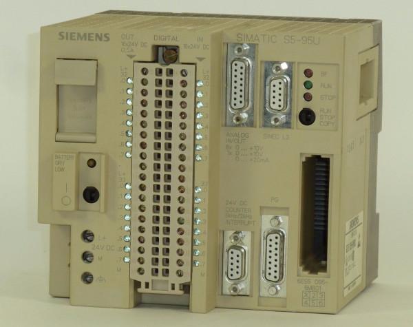 Siemens Simatic S5 095U,6ES5 095-8MB01,6ES5095-8MB01