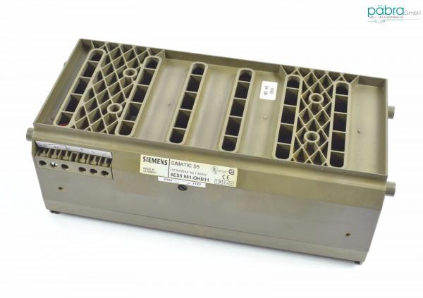 Siemens Simatic S5 Lüfterzeile,6ES5 981-0HB11,6ES5981-0HB11