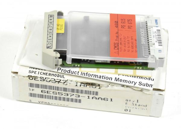 Siemens Simatic S5 Speicher 64KB,6ES5 373-1AA61,6ES5373-1AA61