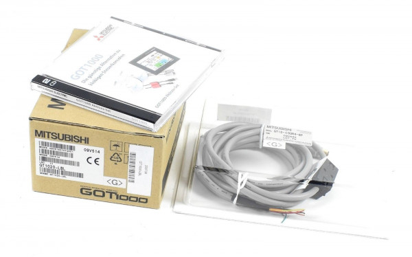 Mitsubishi Electric Touch Panel GOT1000,GT1020-LBL inkl. GT10-C30R4-8P