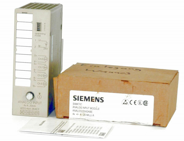Siemens Simatic S5 Analog IN,6ES5 464-8ME11,6ES5464-8ME11