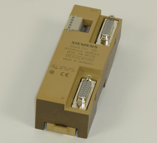 Siemens Simatic S5 Interface module,6ES5 316-8FA12,6ES5316-8FA12