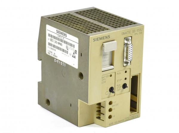 Siemens Simatic S5 CPU 103,6ES5 103-8MA03,6ES5103-8MA03,E:04