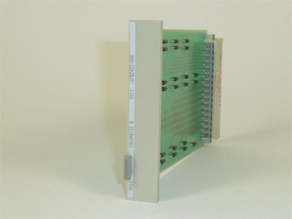 Siemens Iskamatic B VD11,6FQ2421-0AE,6FQ2 421-0AE