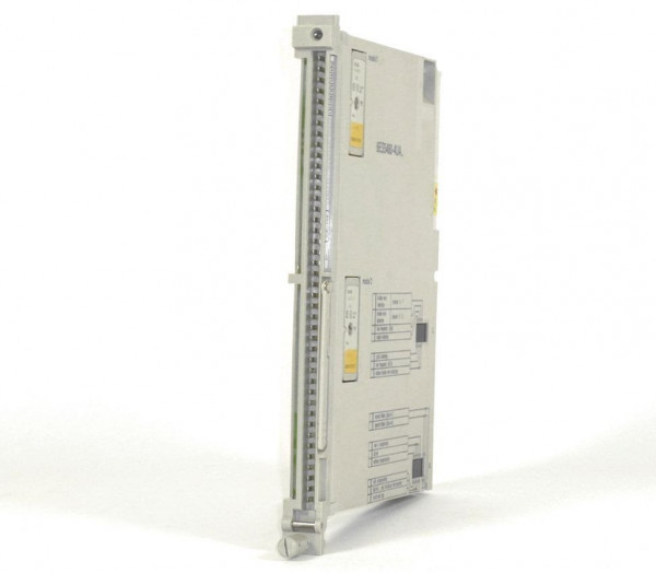 Siemens Simatic S5 Analog IN,6ES5 460-4UA12,6ES5460-4UA12,E:02-04