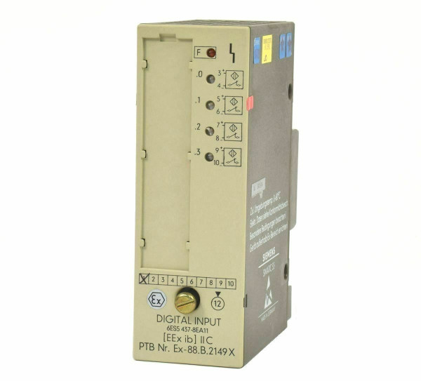 Siemens Simatic S5 Digital IN,6ES5437-8EA11,6ES5 437-8EA11,E:01