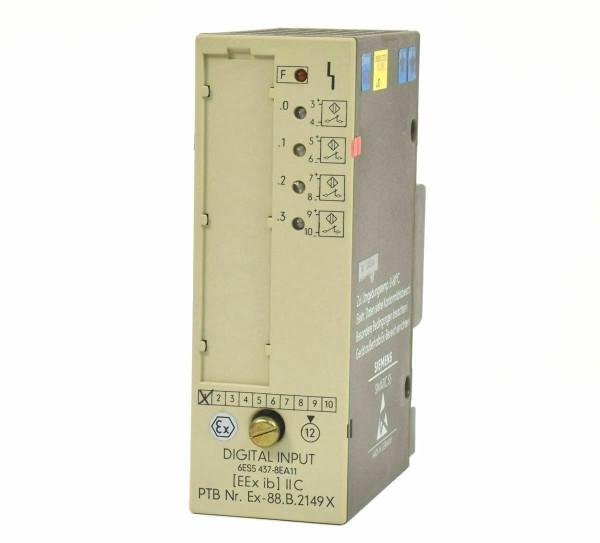 Siemens Simatic S5 Digital IN,6ES5437-8EA11,6ES5 437-8EA11,E:01