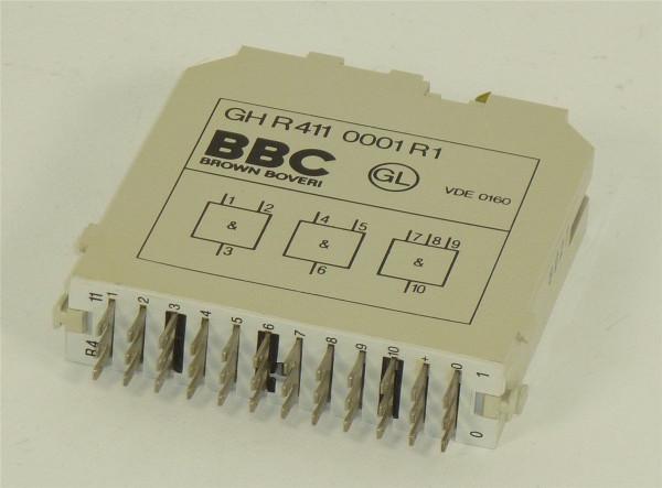 ABB/BBC Logic and Gate Unit,GH R411 0001 R1,GHR4110001R1