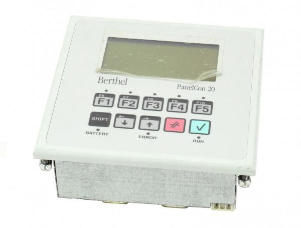 Berthel Front Panel/Display,PanelCon 20