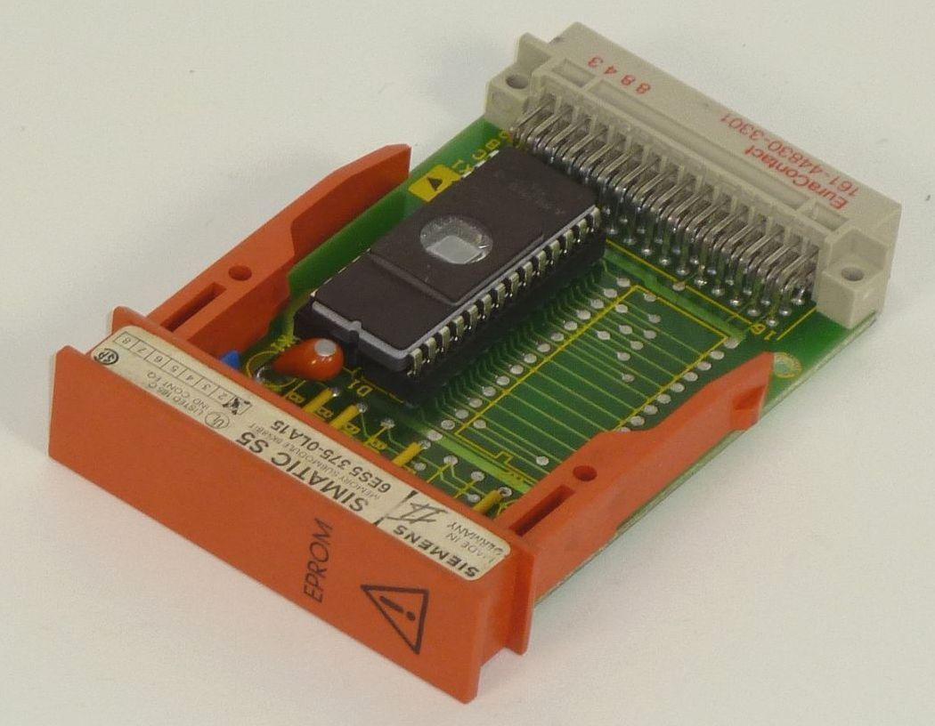 Siemens Simatic s5 EPROM 6es5 375-0la15