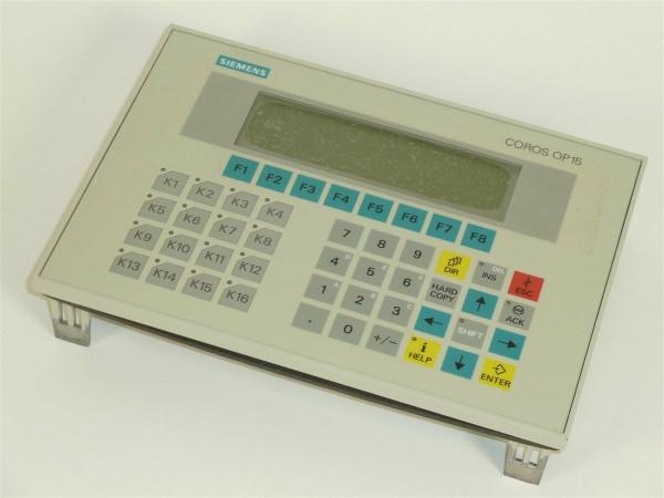 Siemens Simatic OP15-C2,6AV3 515-1MA22-1AA0,6AV3515-1MA22-1AA0,E:04