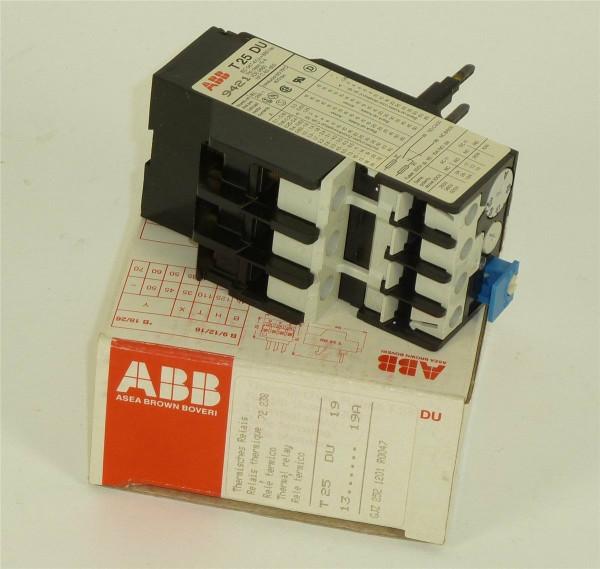 ABB Asea Brown Boveri Thermisches Relais,GJZ 252 1201 R0047,GJZ2521201R0047