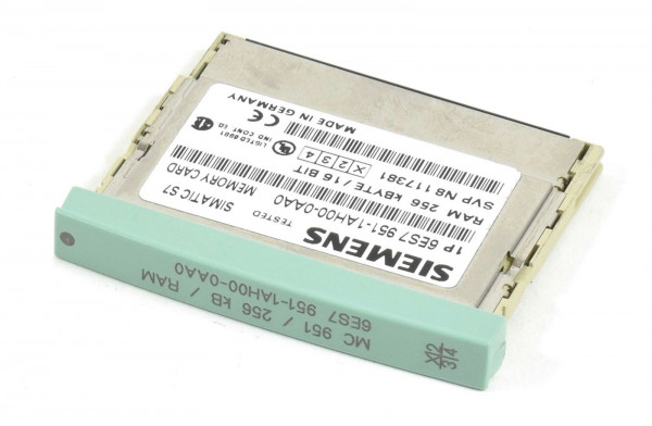 Siemens Simatic S7 Memory Card,6ES7 951-1AH00-0AA0,6ES7951-1AH00-0AA0