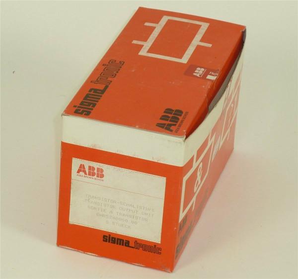 ABB Asea Brown Boveri Transistor-Schaltstufe,GHR5240000 V0,Qty.5