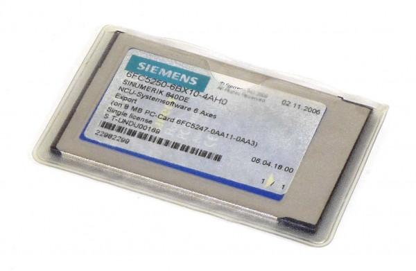 Siemens Sinumerik 571.2/571.3 Software,6FC5250-6BX10-4AH0,6FC5 250-6BX10-4AH0