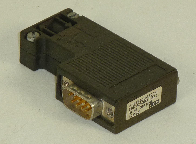 Siemens Simatic S7 Profibusstecker,6ES7 972-0BA11-0XA0,6ES7972-0BA11-0XA0