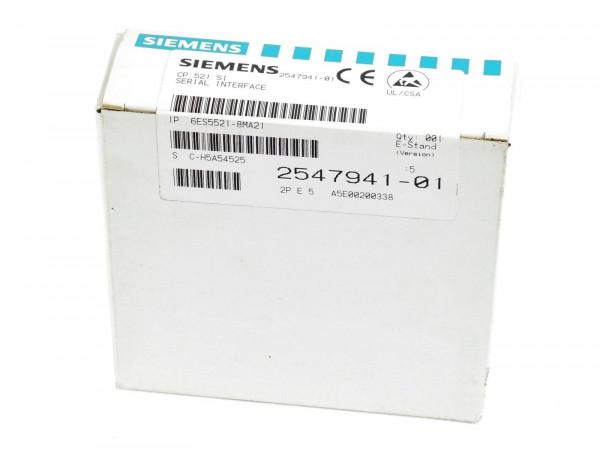 Siemens Simatic S5 CP 521 SI,6ES5 521-8MA21,6ES5521-8MA21
