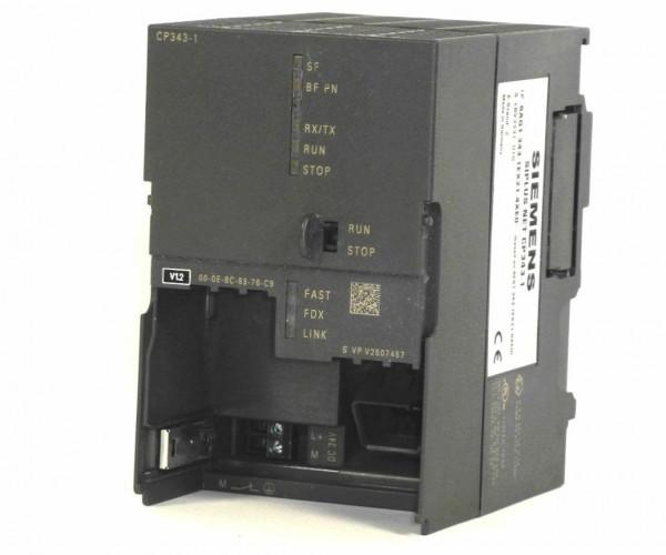 Siemens Siplus NET CP 343-1,6AG1343-1EX21-4XE0,6AG1 343-1EX21-4XE0,E:02