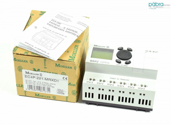 Klöckner Moeller easy Control,EC4P-221-MRXD1,EC4P221MRXD1
