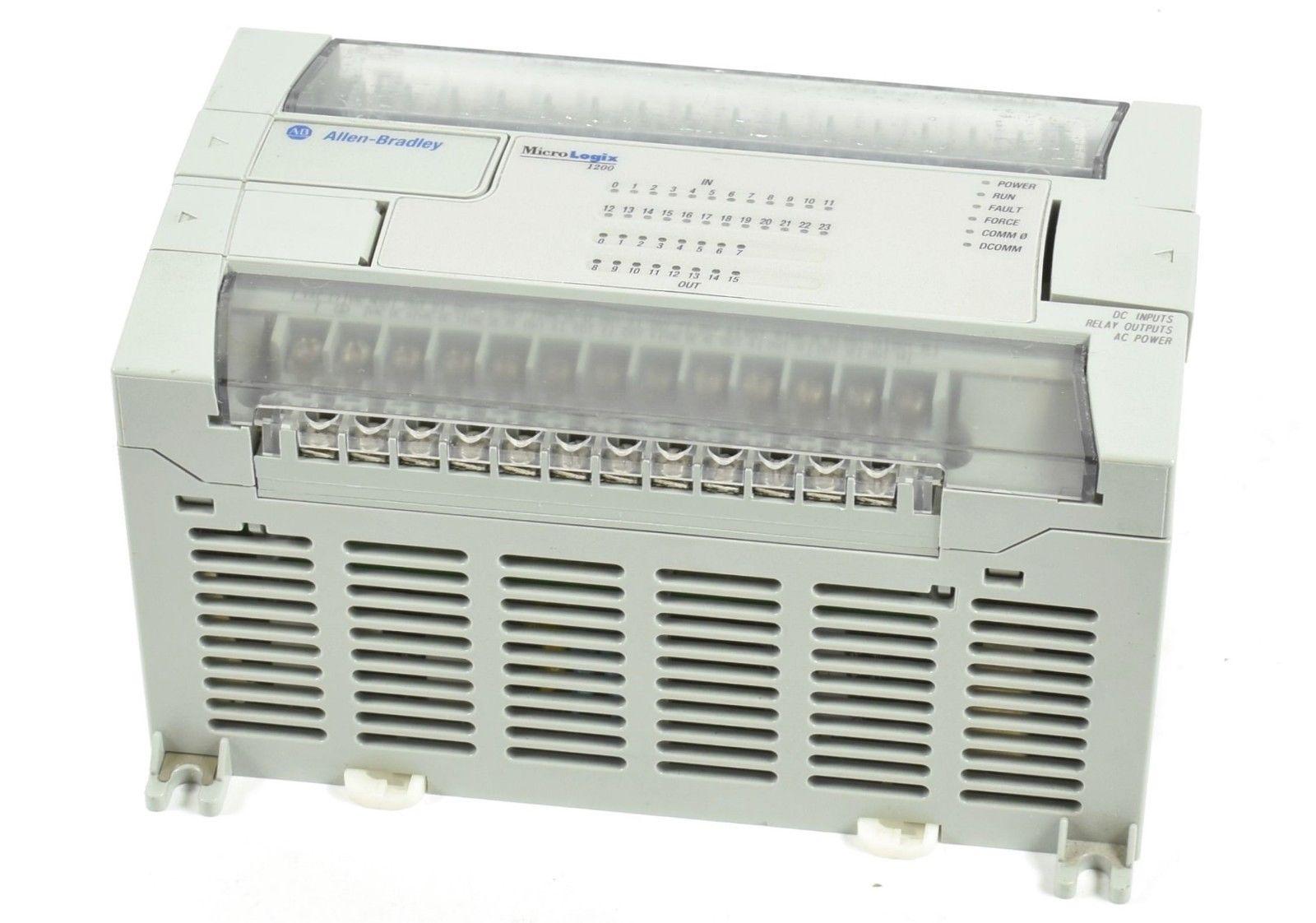 Allen-Bradley MicroLogix 1200 CPU,1762-L40BWA,1762L40BWA