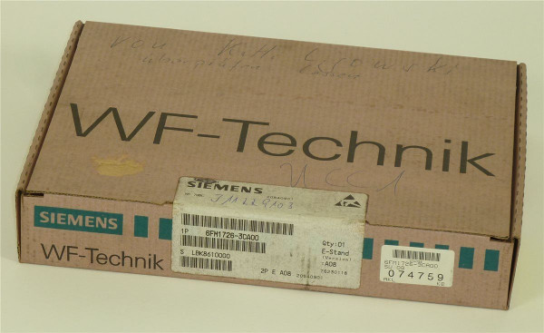 Siemens Simatic S5 WF726C,6FM1726-3CA00,6FM1 726-3CA00,Stand:A08