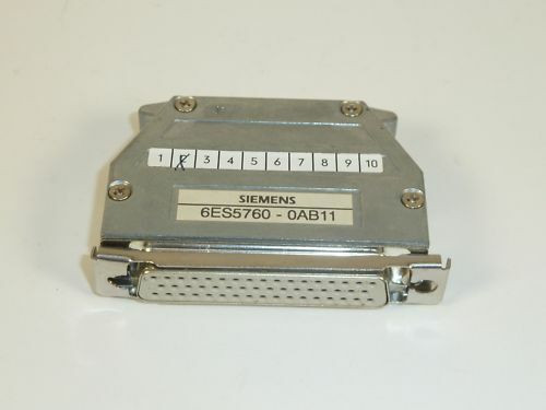 Siemens Simatic S5 Terminator, 6ES5760-0AB11, E:02