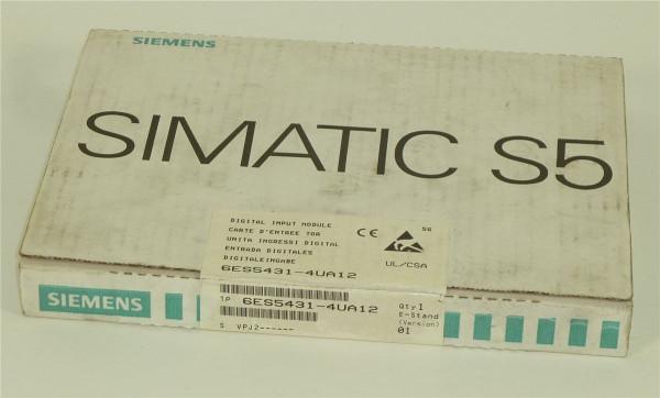 Siemens Simatic S5 Digital Input,6ES5 431-4UA12,6ES5431-4UA12